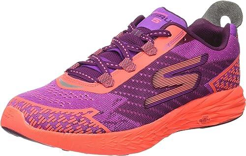 Skechers Go Run 5, Zapatillas de Entrenamiento para Mujer, Morado ...