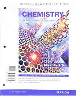 Chemistry a molecular approach nivaldo j tro 9780321809247 chemistry a molecular approach books a la carte plus mastering chemistry with pearson etext fandeluxe Image collections