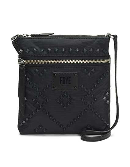 6e15c34aff Amazon.com  FRYE Ivy Nylon Stud Zip Crossbody