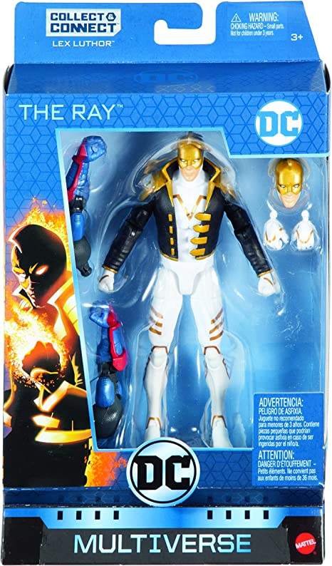 Dc Multiverse Lex Luthor Series The Ray Action Figure Mattel 15 Cm