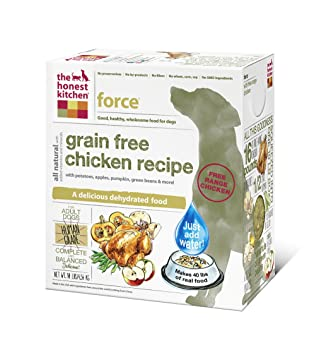 Bon The Honest Kitchen Force Grain Free Dog Food   Natural Human Grade  Dehydrated Dog Food,