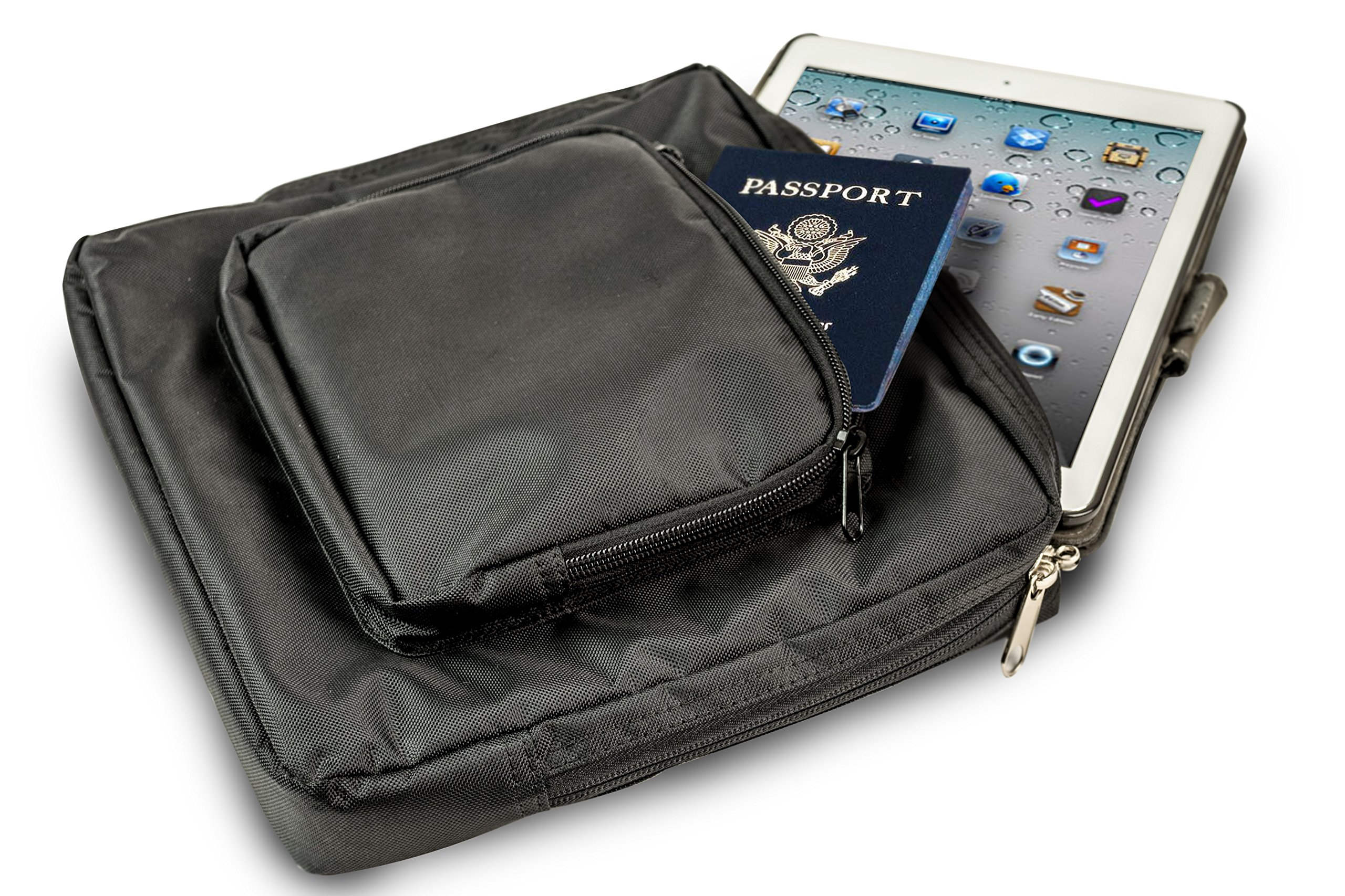 AutoExec AETote-09 Black/Grey File Tote with One Cooler and One Tablet Case by AutoExec (Image #3)