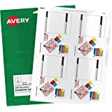 """Avery GHS Secondary Container Labels, Preprinted, Handwrite Only, 3.5"""" x 5"""", 100 Labels (61209)"""