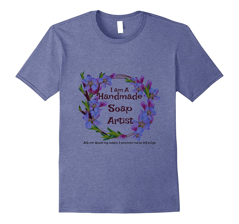 Handmade Soap Lye Soap Making T-shirt Design Soapmaker-Rose