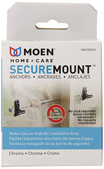 Moen SMA1001CH Home Care Securemount, Chrome - Bathroom Hardware ...