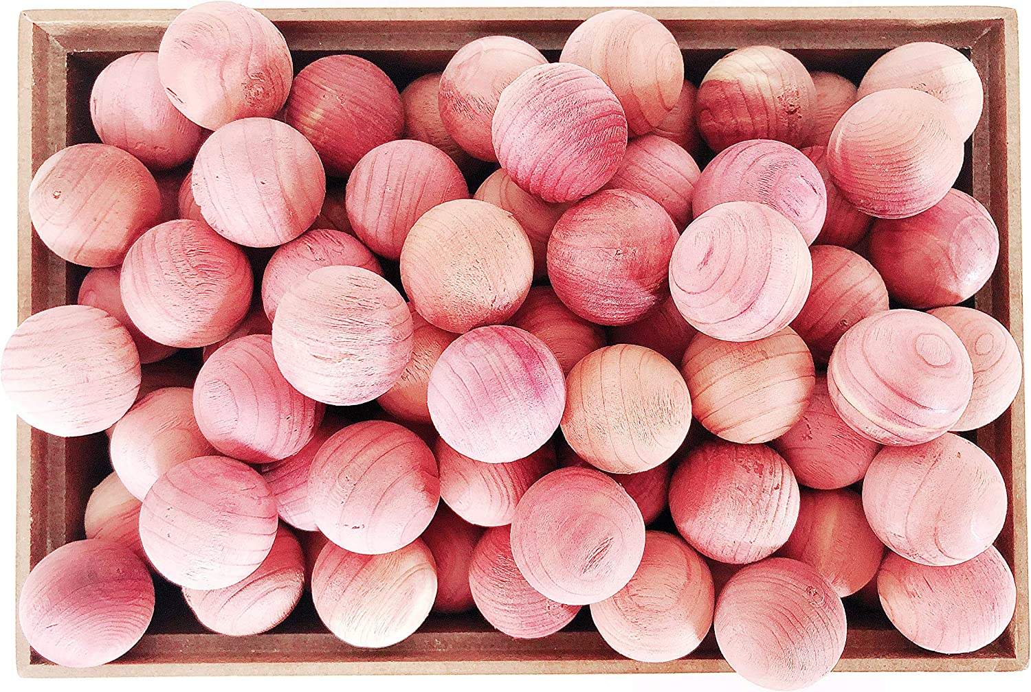 Cedar Balls for Clothes Storage and Drawers Bloc Overseas parallel import regular item Pcs Max 83% OFF 120 -