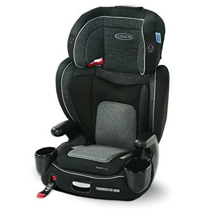 Graco TurboBooster Grow High Back Booster Seat - 3 Modes Of Safe Usage