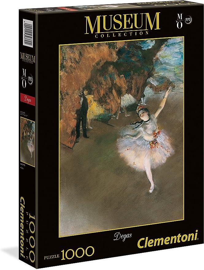 Clementoni- Puzzle 1000 pzas Museum Degas (39379): Amazon.es: Juguetes y juegos