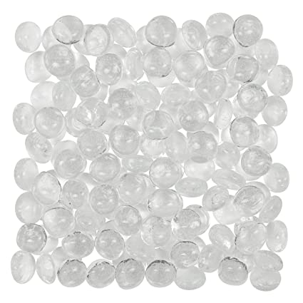 Amazon Artisan Supply Clear Glass Gems 1 Lbs Fills 1 14