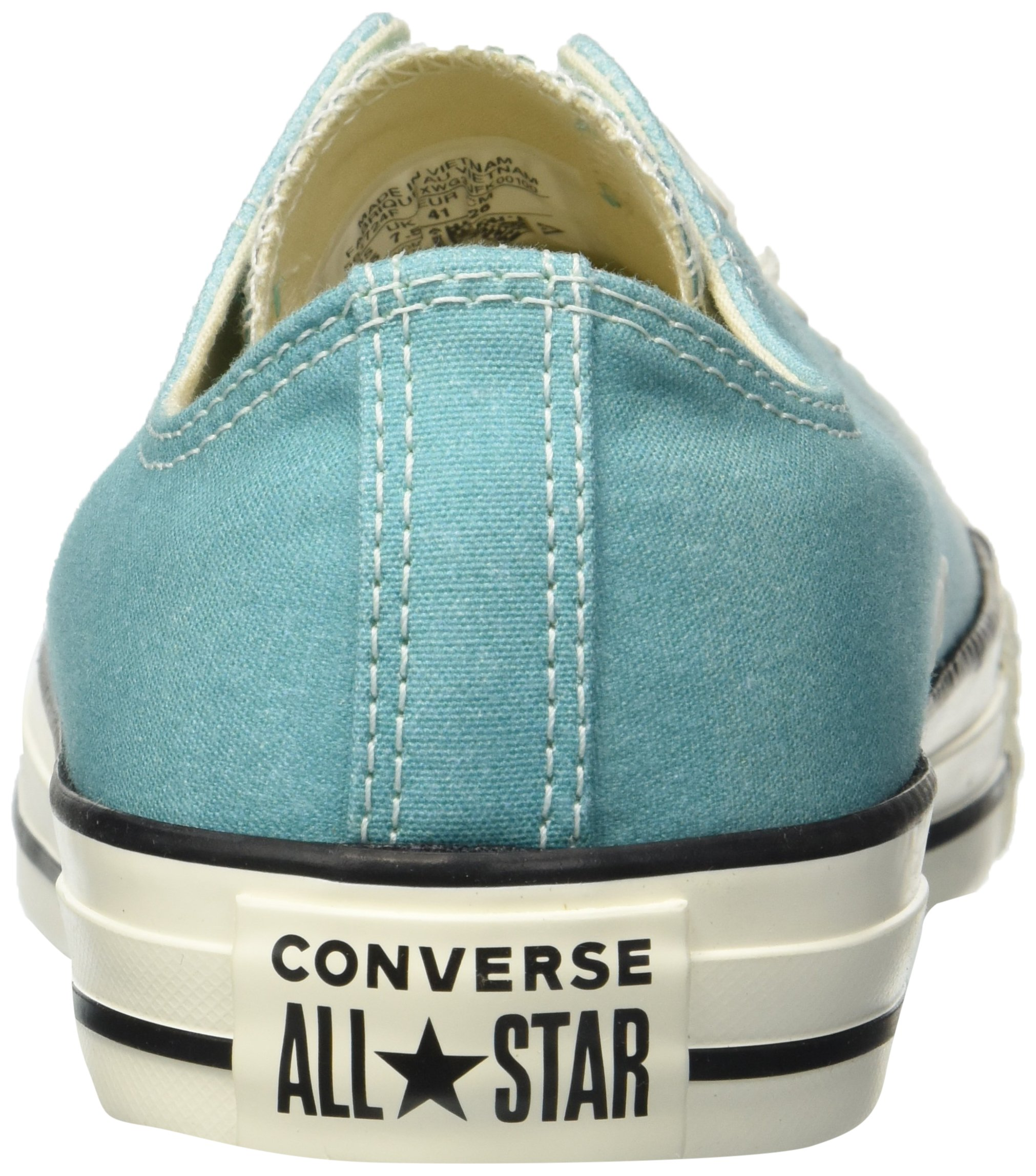 Converse Women's Chuck Taylor All Star Ombre Low TOP Sneaker, Pure Teal egret, 7.5 M US by Converse (Image #2)