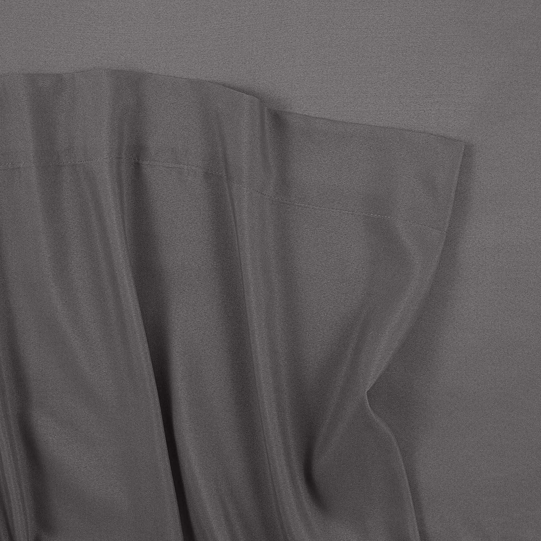 Queen Gray Martex Brushed Microfiber Sheet Set