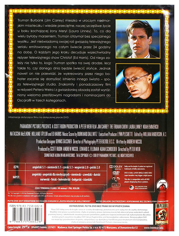 Amazon The Truman Show Dvd English Audio English Subtitles