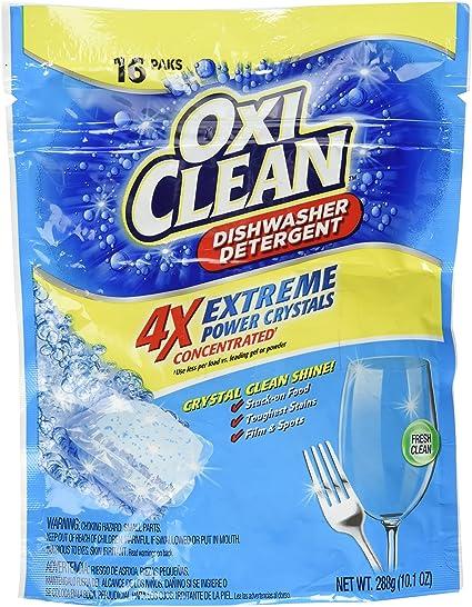 Amazon.com: oxiclean Extreme Power cristales lavaplatos ...