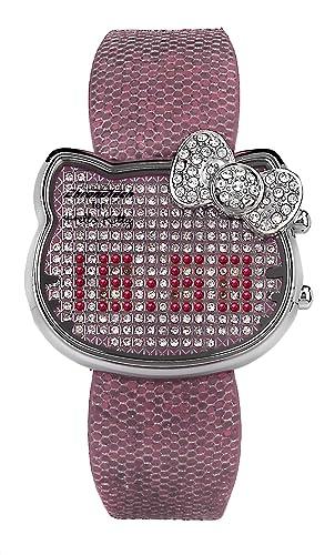 Hello Kitty CHRONOTECH for Hello Kitty - Reloj digital de mujer de cuarzo con correa de