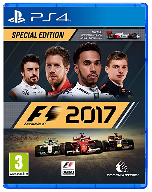 37 opinioni per F1 2017 Special Edition- Day-one- PlayStation 4