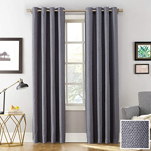 Sun Zero Baxter Theater Grade Extreme Blackout Grommet Curtain Panel