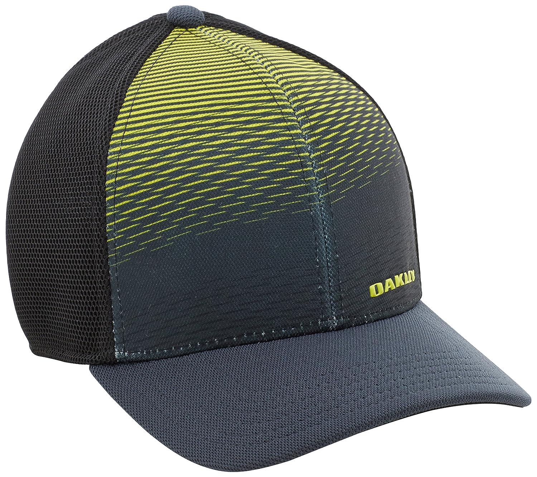Oakley silicon corteza para hombre gorra 4.0 print Negro schwarz - graphit Talla:S/M: Amazon.es: Deportes y aire libre