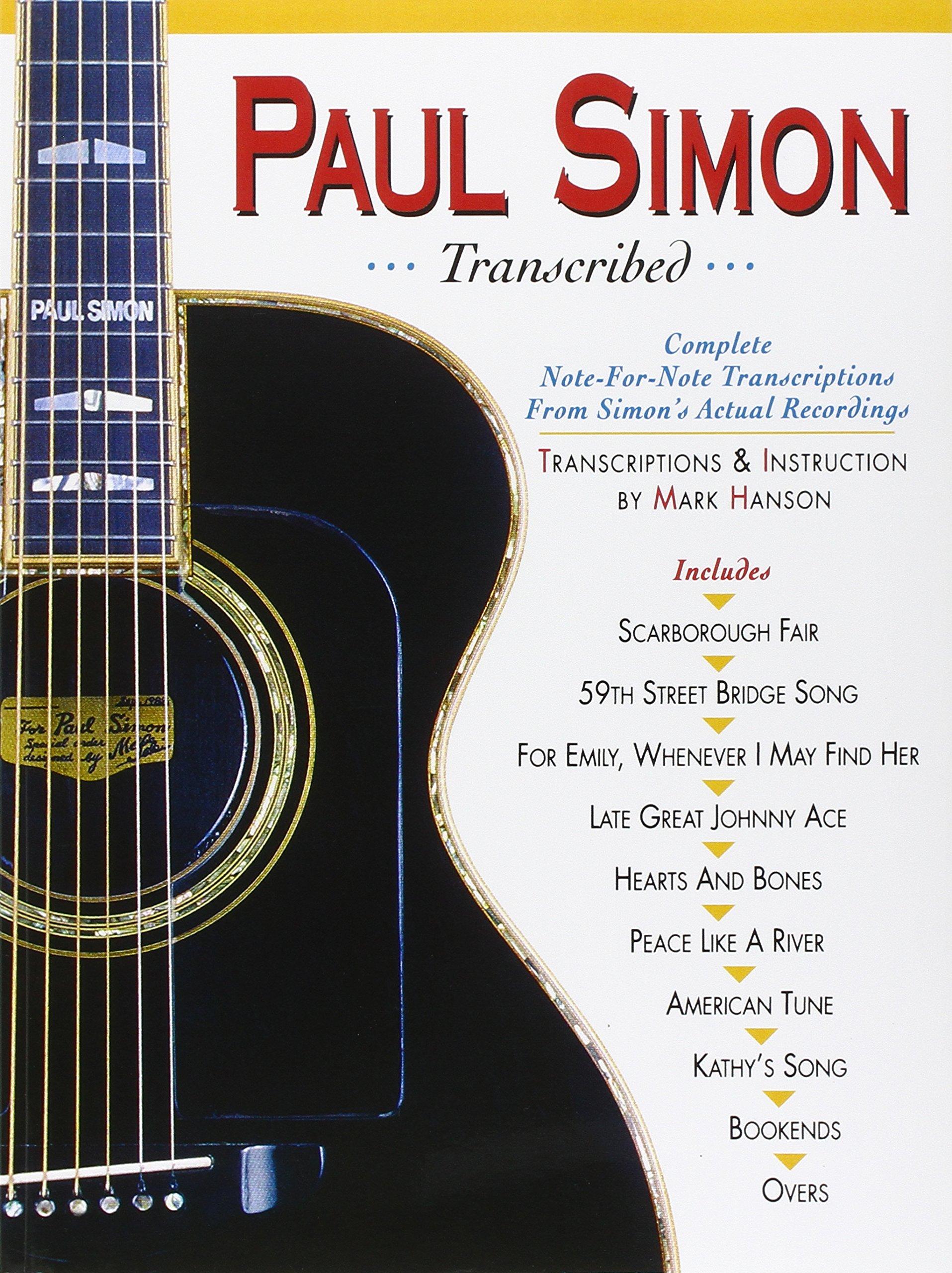 Amazon Paul Simon Transcribed Paul Simonsimon Garfunkel