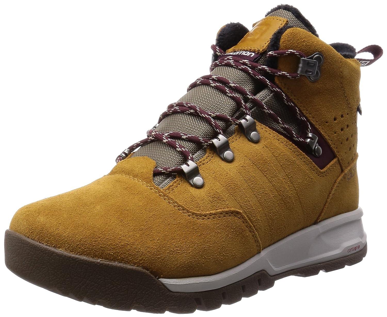 SalomonUtility Pro TS CSWP - Zapatillas de Trekking y Senderismo de Media caña Hombre 44 EU|Marrón - Braun (Rawhide Ltr/Shrew/Pinot Noir)
