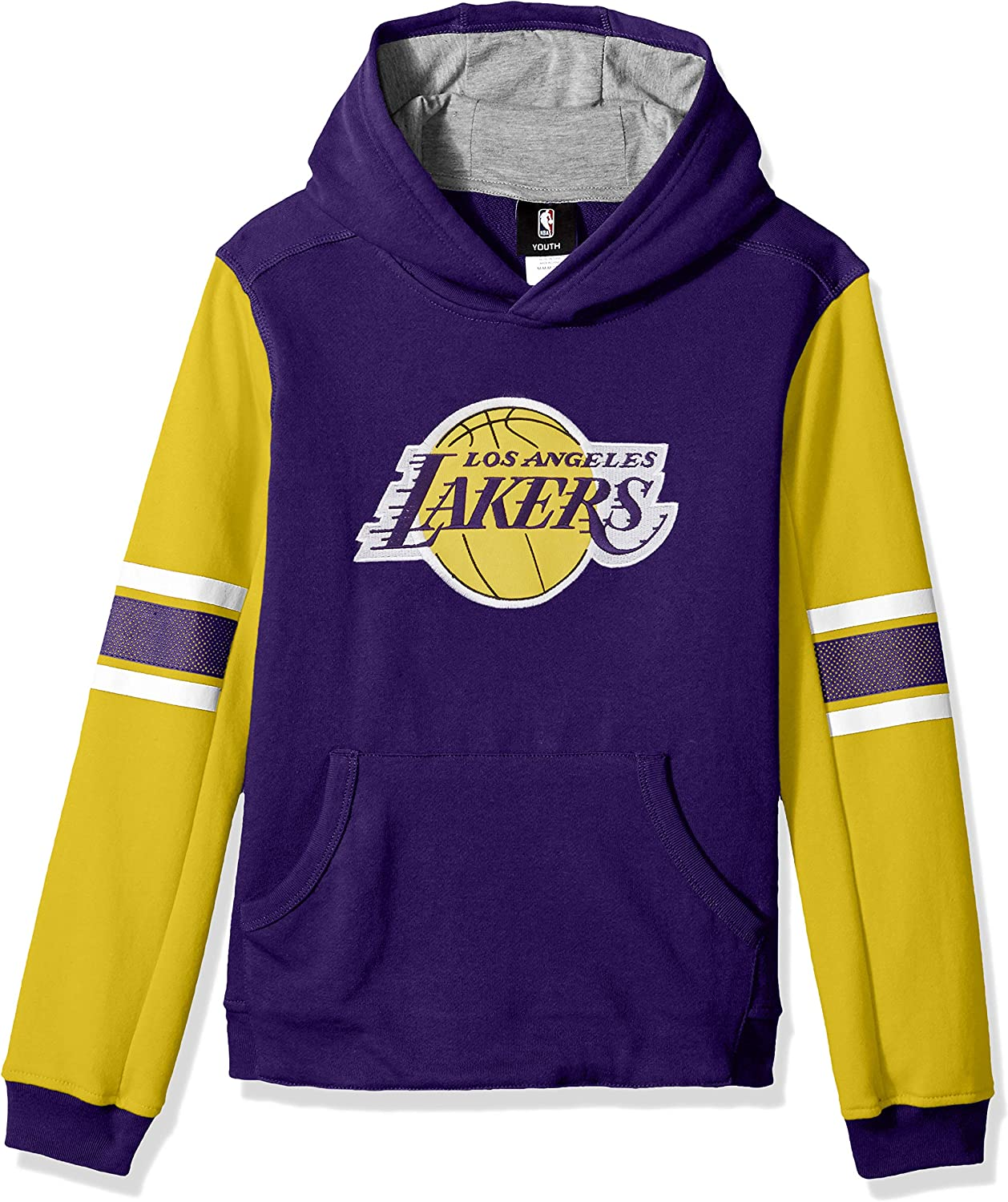 Outerstuff NBA boys Man in Motion Color Blocked Pullover Hoodie