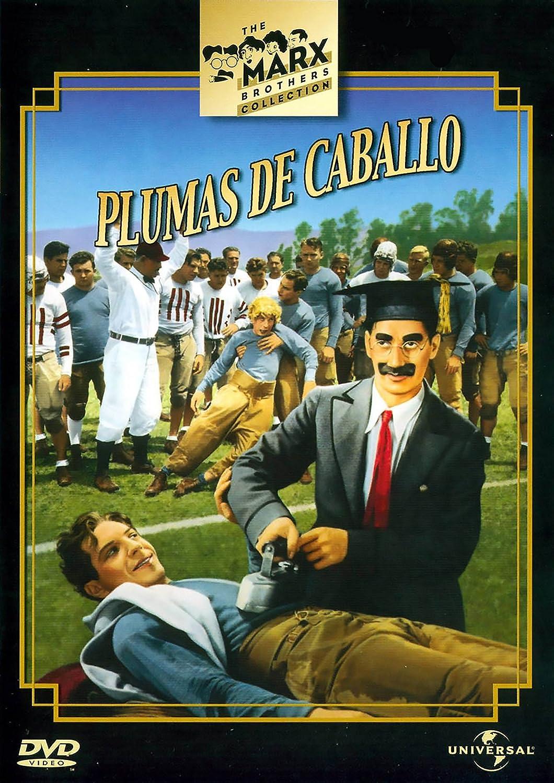 Plumas de caballo [DVD]: Amazon.es: Groucho Marx, David Landau ...