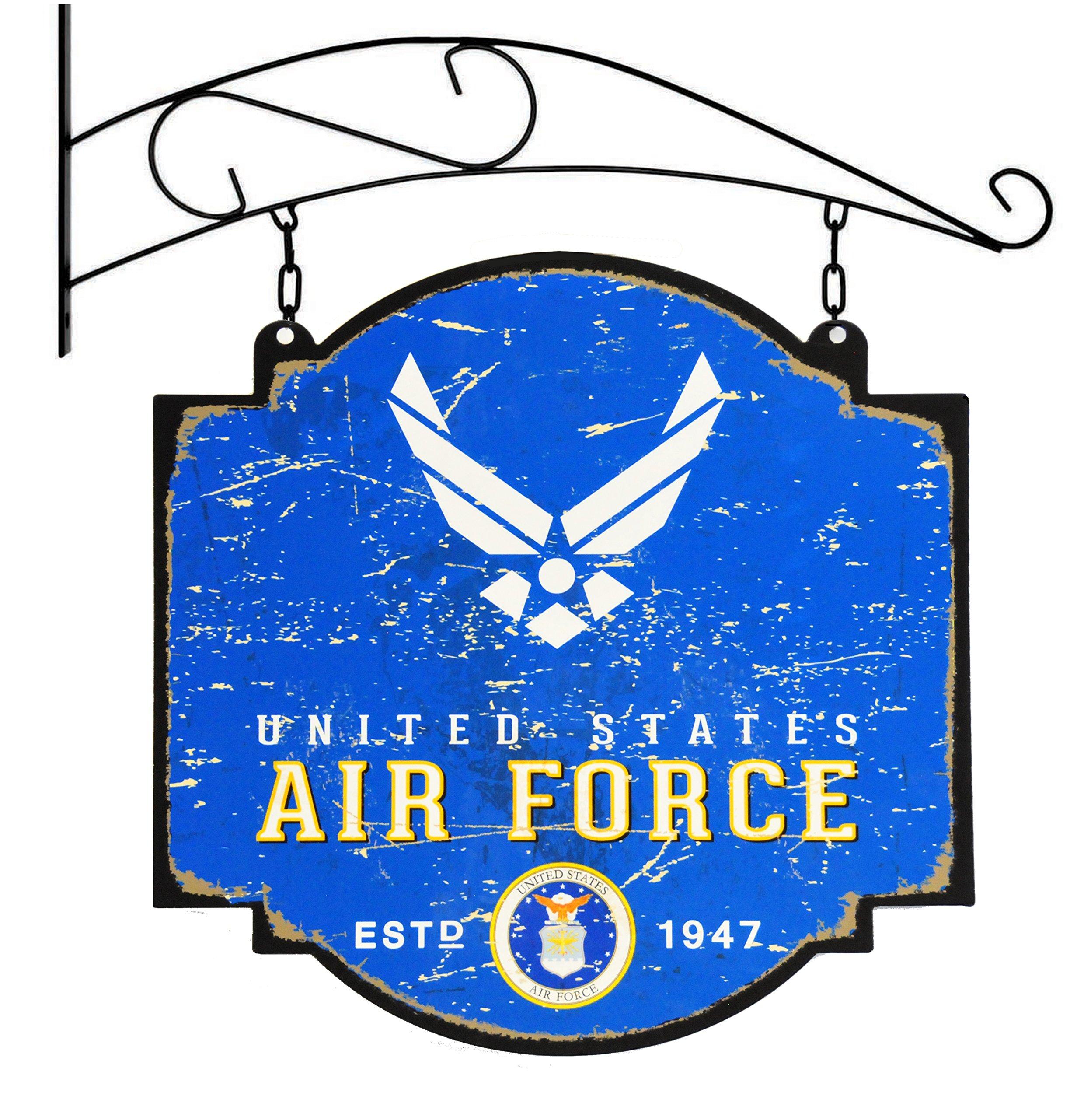 Winning Streak US Air Force Vintage Tavern Sign