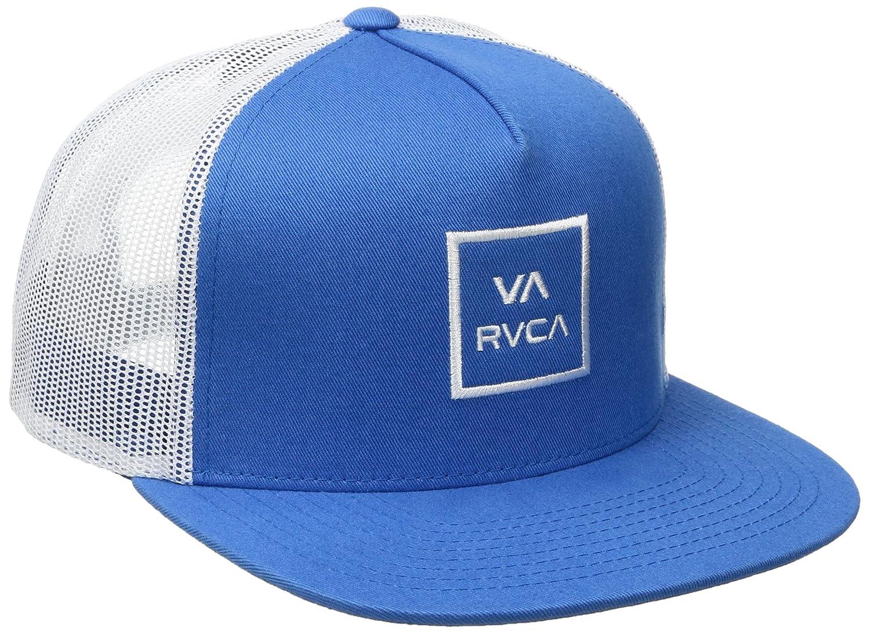(ルーカ)RVCA VA All The lll Way Trucker Hat メッシュキャップ 帽子 サイズ調整可能 ロゴ B01M1343XN One Size|ライトブルー ライトブルー One Size