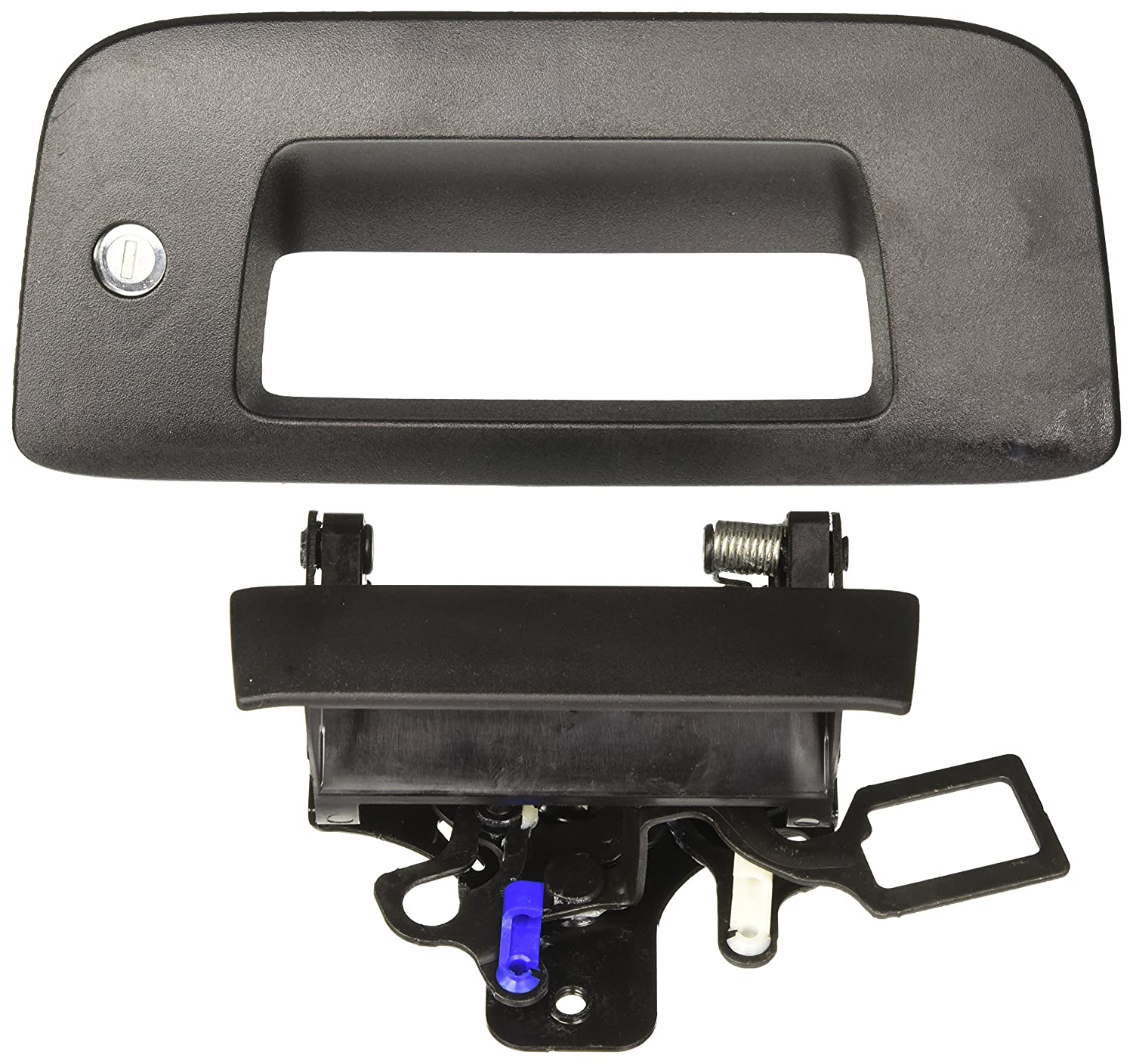 General Motors 2007-2013 Chevrolet Silverado or GMC Sierra Black Bezel and Handle with Codeable Lock Package by GM 22755305 FBA_22755305