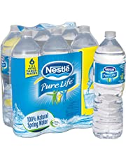 Nestle Pure Life 100% Natural Spring Water 1.5l Plastic Bottle, 6 Count