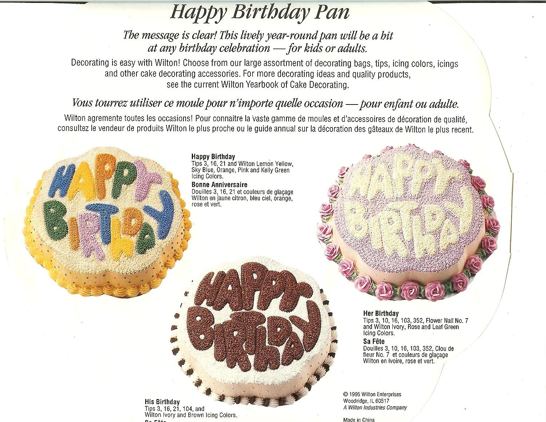 Wilton Birthday Cake Pans