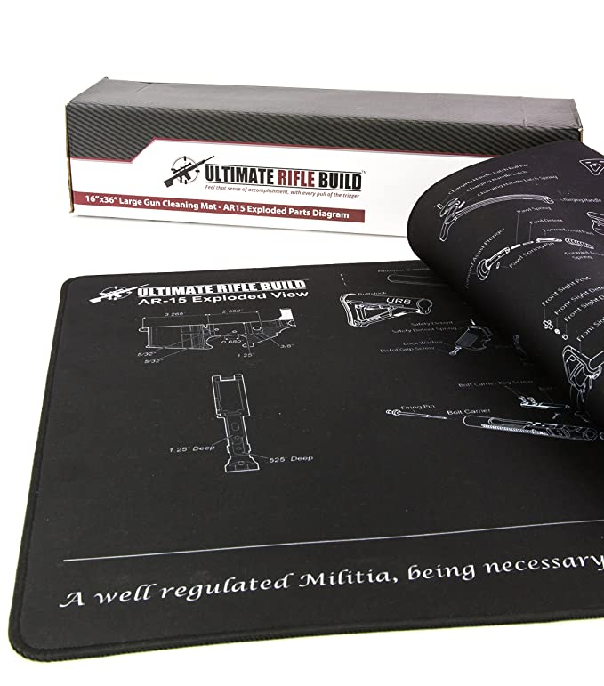Amazon Ultimate Rifle Build X Large Ar15 Gun Cleaning Mat With