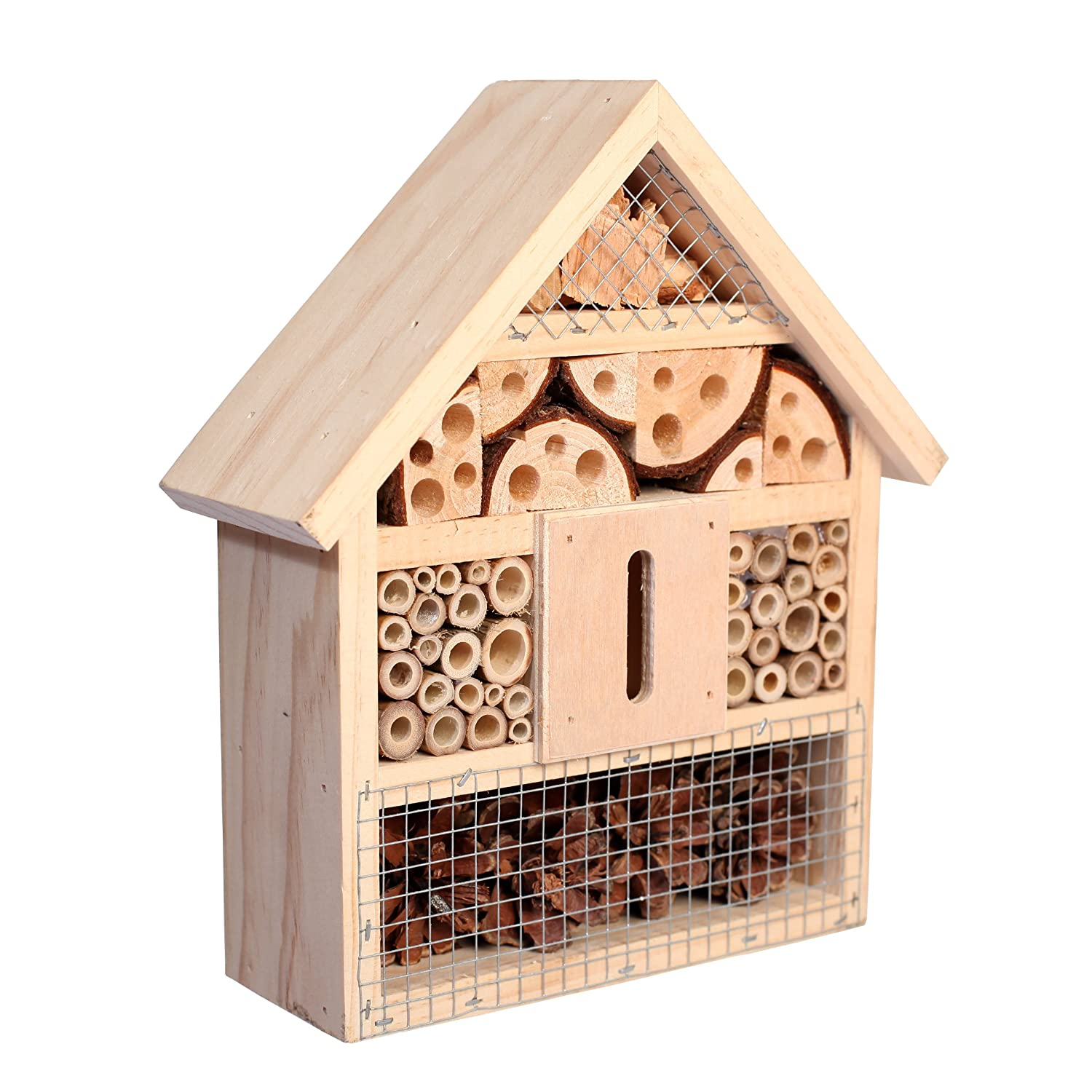 Gardenon Natural Insect Hotel Bee Bug House Hotel