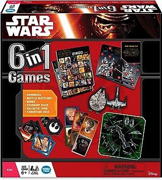 Ravensburger - Juegos de Miniatura Star Wars, 6 en 1, de 2 a 4 Jugadores (22482) (versión en inglés): Amazon.es: Juguetes y juegos