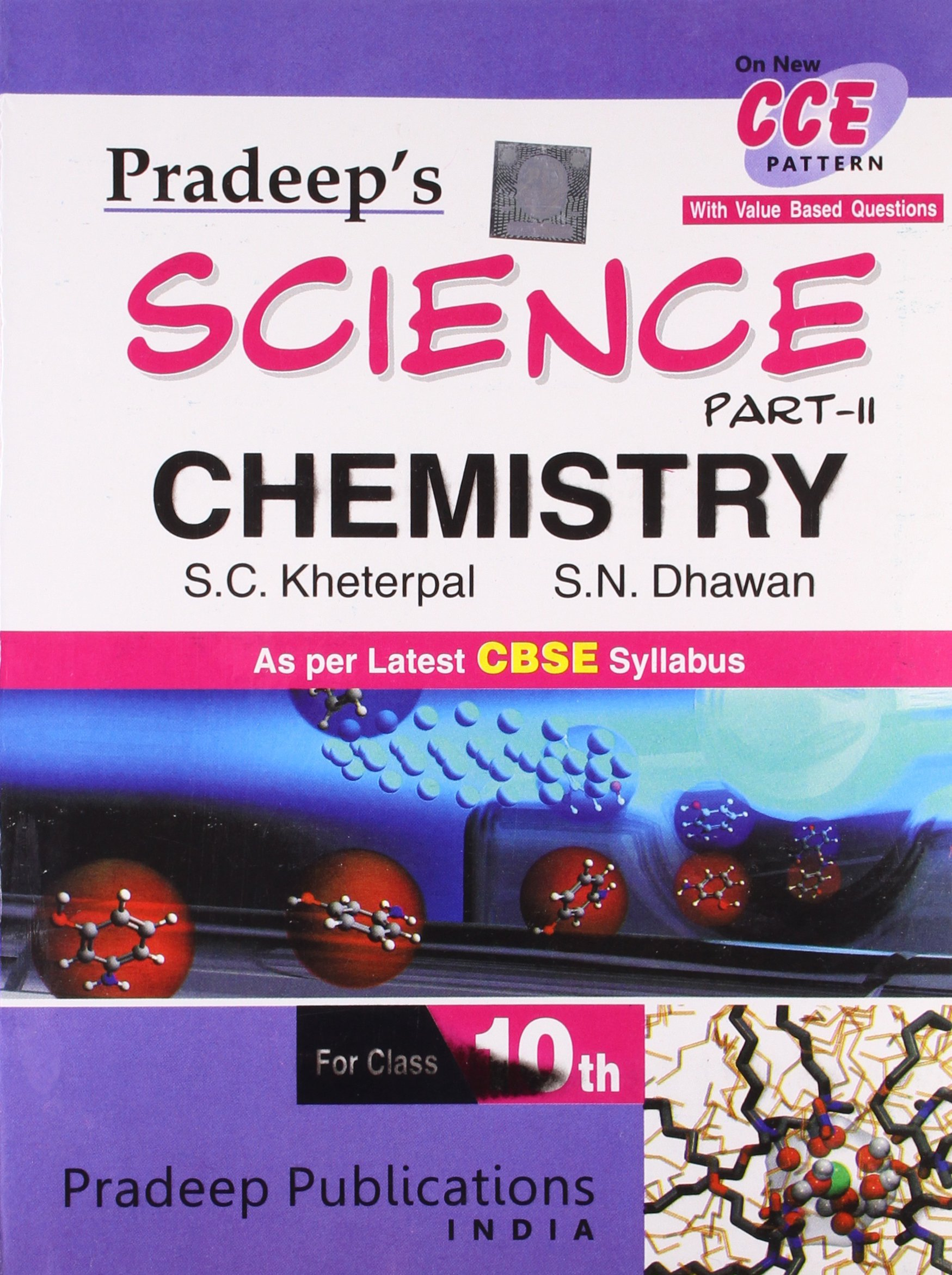 Buy pradeep s science chemistry for class x part ii book online at low prices in india pradeep s science chemistry for class x part ii reviews