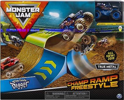Monster Jam- Monster Jam-6053296-Original Spielset, Maßstab Champ ...