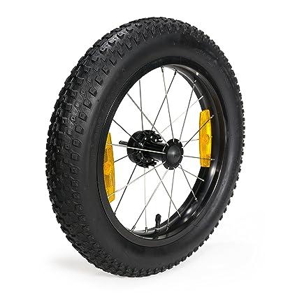 Rueda de bicicleta, 16 + Burley 16 x 3 Push Button Juego de ruedas (