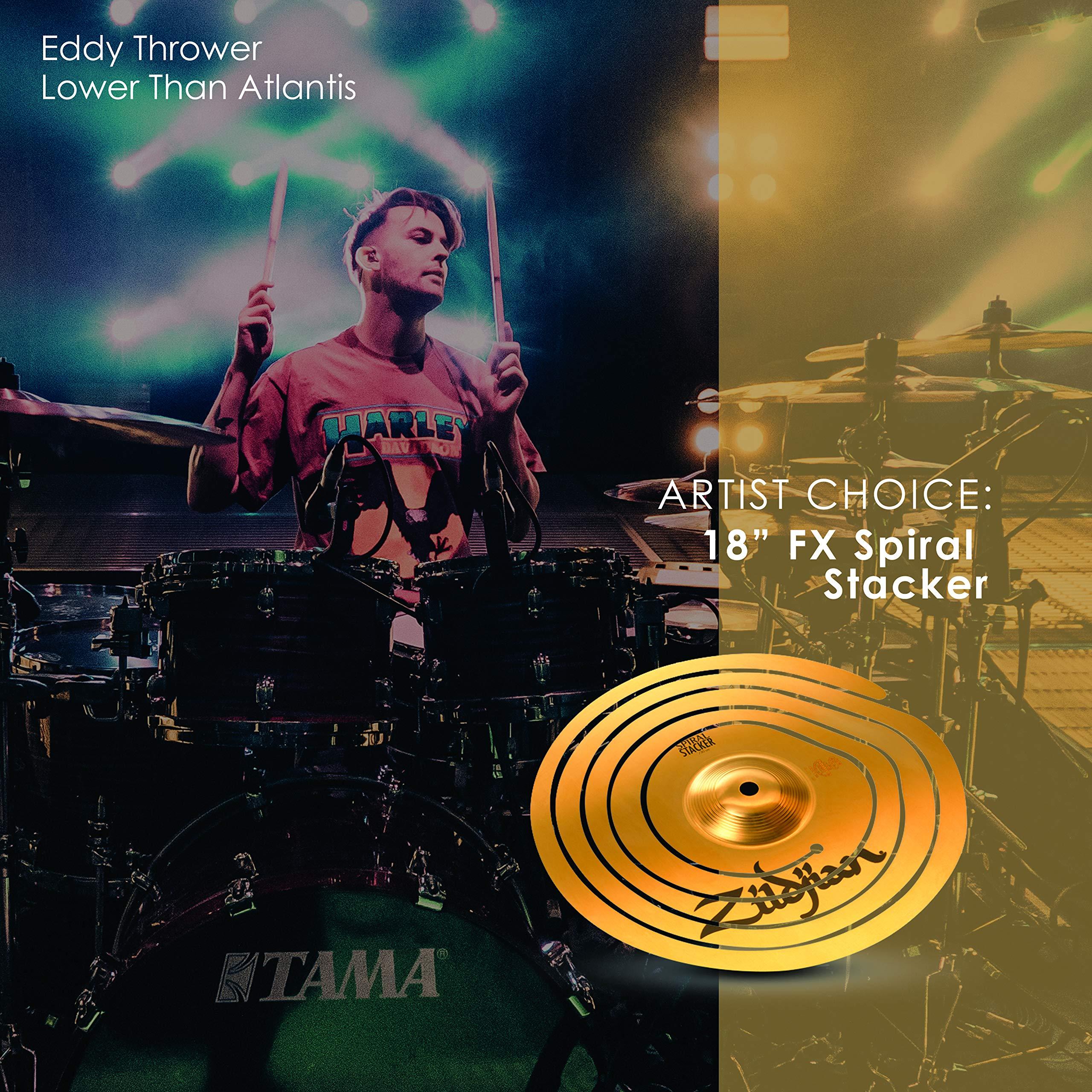 Zildjian 18'' FX Spiral Trash