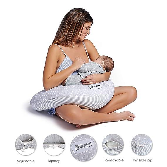 Dilamababy Almohada Embarazada Dormir Cojin Lactancia en ...
