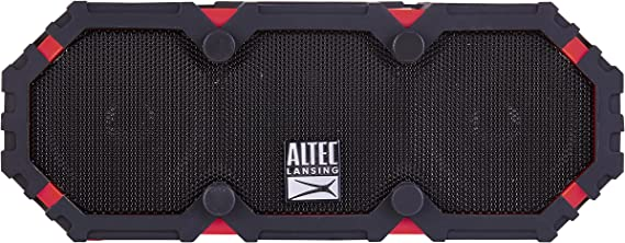 NEW! Shock Proof Bluetooth Speaker RED Altec Lansing Mini Lifejacket 3 Water