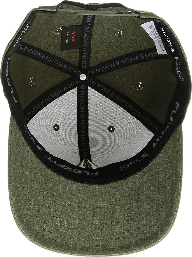 Amazon.com  NIXON Unisex Scout 110 Snapback Hat Avocado One Size  Clothing fad6162ba1cb