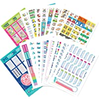 Planner Stickers Variety Bundle Set (Qty 770+) for Birthdays, Home, Work, School, Appointments, Projects, Party, Dates…