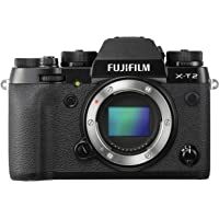 Fujifilm X-T2 Mirrorless Digital Camera (Body Only), Black