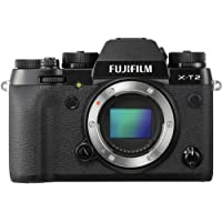 Fujifilm X-T2 Mirrorless Digital Camera (Body Only), Black
