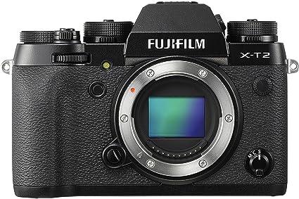 Fujifilm X-T2 Mirrorless Digital Camera Body Mirrorless System Cameras at amazon
