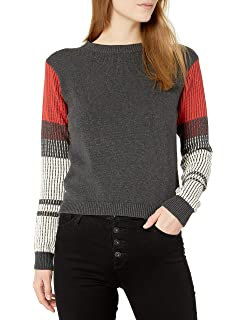 Cable Stitch Womens Wave Stitch Cotton Sweater