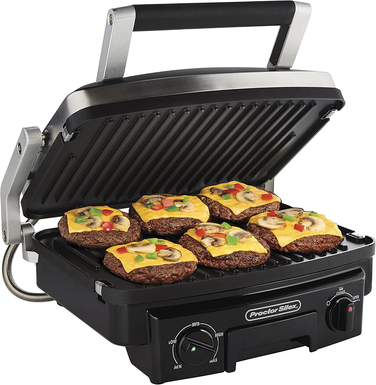 Proctor Silex 5-in-1 Electric Indoor Grill review