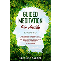 Guided Meditation for Anxiety: The mindfulness beginner guide you need to reduce stress and have deep sleep. Overcome panic attacks, depression and pain ... exercises of self-healing (English Edition)