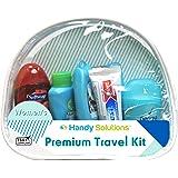Premium Women's 7Piece Travel Size Kit Includes Twin Blade, Toothbrush, Pantene Shampoo, Conditioner,° Antiperspirant…