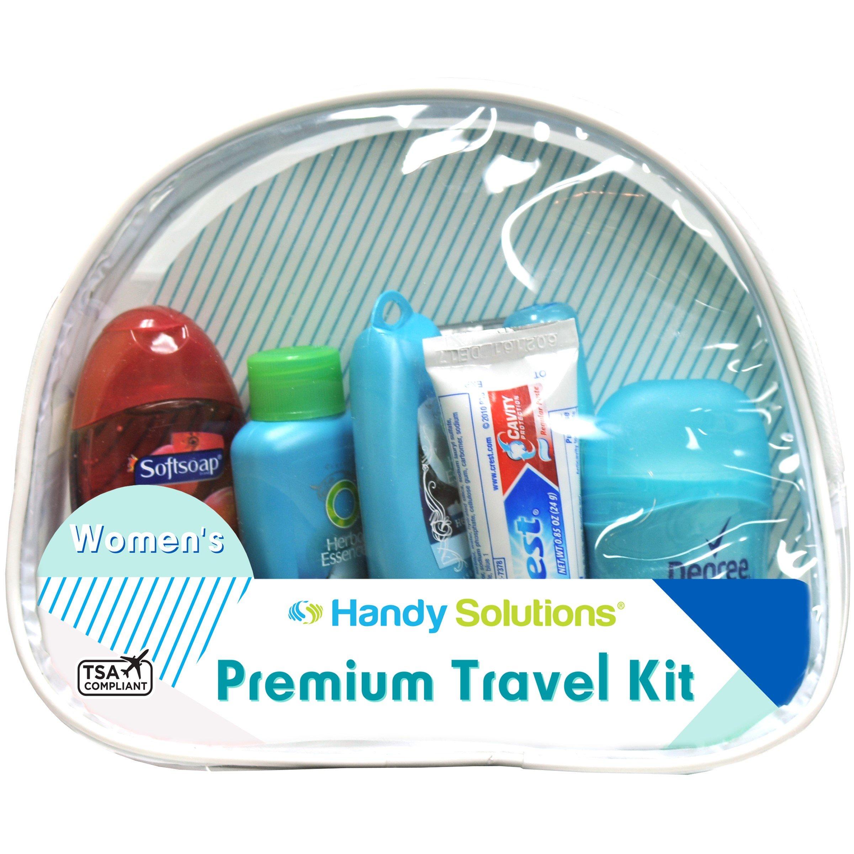 b12fdf3ed43e Amazon.com : Premium Men's 7-Piece Travel Size Kit includes Twin ...