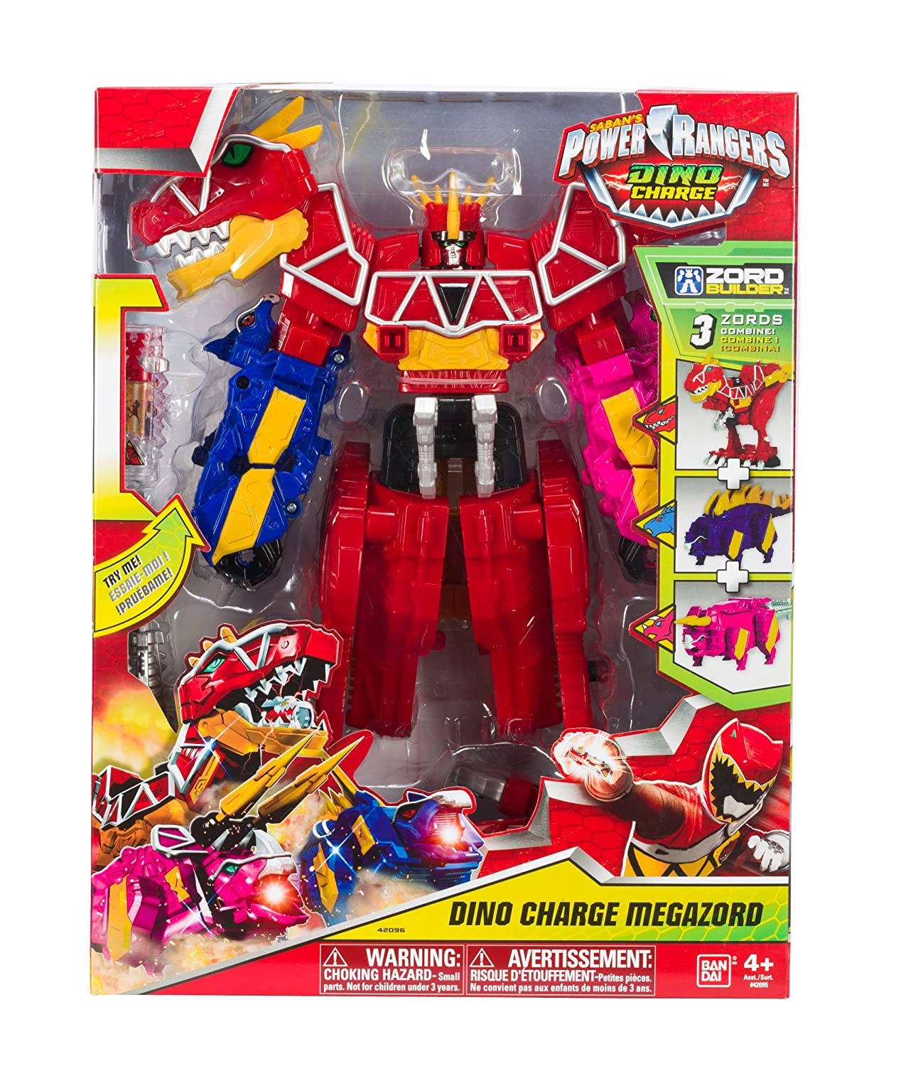 Power Rangers Dino Charge - Dino Charge Megazord by Power ...
